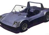 O simpático buggy fluminense Vega, lançado em 1983.