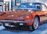 Adamo GT, exibido no Salão do Automóvel de 1970 (foto: 4 Rodas)