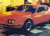 Adamo GT II no IX Salão; note a semelhança do perfil dianteiro com o modelo anterior (foto: 4 Rodas).