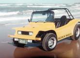 Buggy Adax, numa foto de divulgação, nas praias do município de Icaraí (CE).