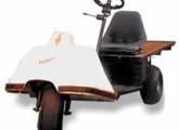 Carro elétrico Kadiketo, recentemente produzido pela Yasi.