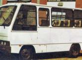Nova alternativa de microônibus Agrale, de 1985, já com carroceria Marcopolo.