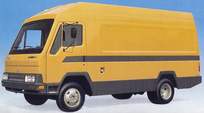 Ultravan Agrale, construída em conjunto com a empresa Multivan.