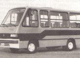 Micro Agrale Junior, montado sobre o novo chassi de ônibus.