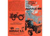 Agrale T-416 em folder contemporâneo