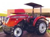 Trator 5065.4 Compact, para culturas de café e laranja; lançado na Expointer 2009, tinha as menores largura e distância entre-eixos da categoria (foto: Cultivar)