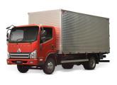Linha A, do final de 2015: os caminhões leves Agrale voltam a dispor de cabine de modelo próprio, agora importadas da China.