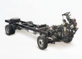 Com 8,7 t e 152 cv, o MA 8.7 é o menor dos seis modelos de chassis Agrale em linha em 2015.