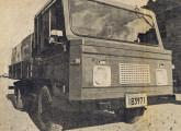 1976: segundo protótipo do caminhão Agrale (fonte: Jornal do Brasil).