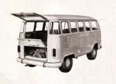Enquanto desenvolvia seu primeiro caminhão, a Agrale testava a utilização de seu motor diesel vertical refrigerado a ar em uma Kombi e um sedã Volkswagen (fonte: Douglas Antunes Pacheco / Oficina).