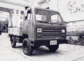 1981: terceiro protótipo do caminhão Agrale.