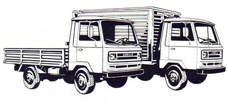 Caminhão leve TX 1100: a Agrale explorando nichos de mercado.
