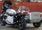 A enorme moto Amazonas na versão com sidecar (fonte: 4 Rodas)