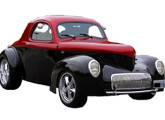 Willys Coupé, primeiro modelo fabricado pela Americar, ainda em linha.
