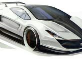 Desenho conceitual do GT DoniRosset.