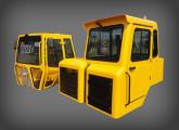 Cabines para retroescavadeira e caminhão fora-de-estrada Random, fornecidos pela ARB desde 1994.