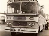 Asirma com chassi Mercedes-Benz LP operando em Santo André (SP); note, pelos letreiros, que a linha servia a fábrica da Willys, em São Bernardo do Campo (fonte: Miguel Guarnieri).