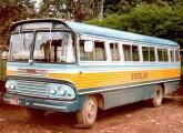 Um dos derradeiros Asirma, na frota de transporte escolar de Belo Horizonte (MG).