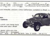 Publicidade da Baja Bug de novembro de 1986.