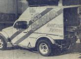 Protótipo do Baja Bug Furgão, lançado em 1987.