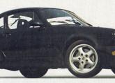 Réplica livre do Porsche 911, construído sob encomenda por Átila Rache.