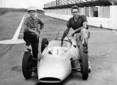 Fórmula Jr de Toni Bianco, aqui fotografado com Chico Landi (à esquerda).