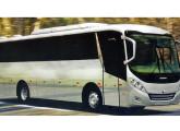 Solar, para fretamento e transporte de curtas e médias distâncias, aqui na versão 2010 para motor dianteiro.