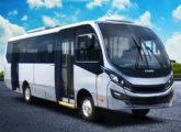 Micro-ônibus F2400, aqui na versão urbana, lançamento de 2017.