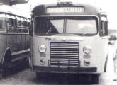 Carroceria Caio 1947 montada sobre chassi sueco Volvo.