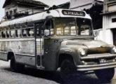 Ônibus rodoviário Caio sobre caminhão Chevrolet nacional de 1959, na frota do Expresso Cearense, também operando entre Crato e São Paulo (fonte: Ivonaldo Holanda de Almeida).