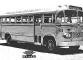 """Um """"Fita Azul"""" de 1959, já sobre chassi Mercedes-Benz LP-321 nacional."""