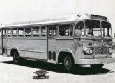"""Um """"Fita Azul"""" de 1959 da empresa paulista 9 de Julho, já sobre chassi Mercedes-Benz LP-321 nacional."""