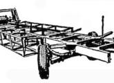 Plataforma especialmente projetada pela Caio para o rodoviário Papa-Léguas.