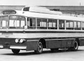 Trólebus fornecido em 1962 para Araraquara (SP), com mecânica FNM e sistema elétrico Ansaldo.