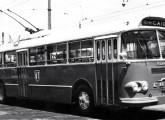 Trólebus da CTU de Recife, fornecido em 1964 pelo consórcio Caio-Villares.