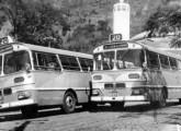 Também sobre Magirus, porém com carroceria urbana, são estes dois Jaraguá da Viação Santa Luzia, de Juiz de Fora (MG) (foto: Elias Jr.).