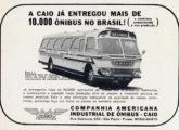 Primeira versão do Gaivota em anúncio de abril de 1968, meses antes da reestilização da carroceria.