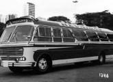 A carroceria Gaivota recebeu nova grade em 1968; aqui um Scania da empresa Reunidas.