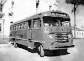 Rodoviário de 1948 sobre chassi Ford da Auto Viação Bragantina, de Bragança Paulista (SP) (fonte: setpest / toffobus).
