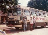 LPO-1116 de Pedras de Fogo (PB), com carroceria Caio Norte, apresentando vigias frontais de vidro, pouco usuais em veículos com motor dianteiro (foto: Admilson Marinho da Silva Filho).