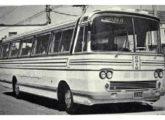 Rodoviário Jubileu 25 em versão mais simples para chassis com motor dianteiro, apresentado em Fortaleza (CE) em outubro de 1971 (fonte: site carrosantigoseonibus).