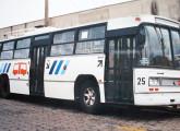 Um dos cinco trólebus construídos pelo consórcio Caio-Massari-Villares para Araraquara (SP) em 1976 (fonte: site railbuss).