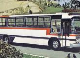 Caio Itaipu, derivado do Gabriela II, na versão intermunicipal sobre base Scania.