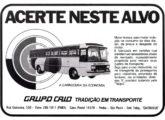 Publicidade de junho de 1977 anunciando o novo modelo Itaipu.