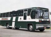 Intermunicipal Aritana (aqui sobre chassi Scania): derivado do Gabriela II, foi lançado no final da década de 70 (fonte: Jorge A. Ferreira Jr.).