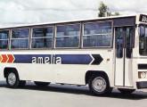 Lançado em 1980, o Amélia (aqui com mecânica Mercedes-Benz LPO) foi outro urbano Caio de grande sucesso.