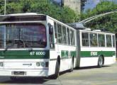 Em 1985 a Caio se encarregou da construção de um dos dois protótipos do trólebus articulado brasileiro.