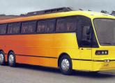 Carroceria rodoviária Squalo, lançada aos 40 anos da Caio.