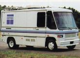 Há muito a Caio oferece a carroceria Carolina na versão furgão urbano de carga; o modelo da imagem é de 1994.