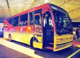 Caio Beta na versão para fretamento, apresentada na III Expobus, em 1994 (foto: Transporte Moderno).